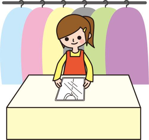 クリーニング店のクリーニングとは「ドライクリーニング」を指している。