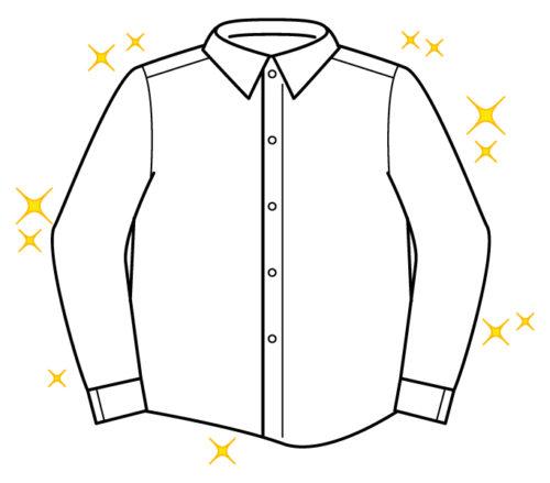 ワイシャツ1枚あたりの単価、送料込みでいちばん安いのはどこ?