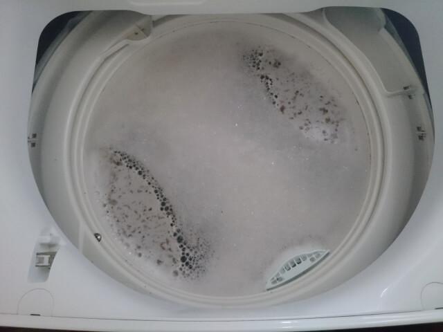 生乾き臭には洗濯槽の洗浄が最も効く!