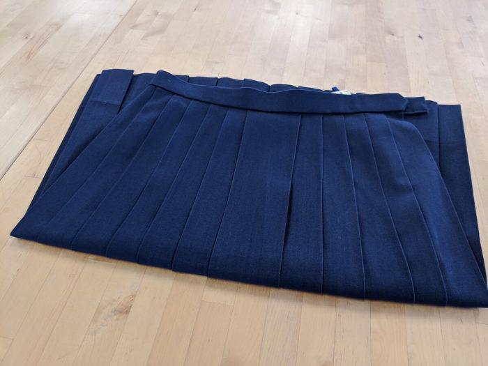 このスカートの仕上がりは大満足!