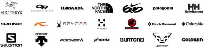 クリコムは、スキーウエア・スノボウエアの有名ブランドのメンテナンスに最適