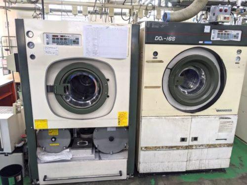 ドライクリーニング用の洗濯機