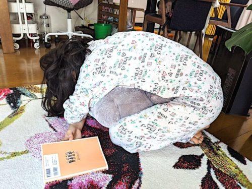 トトロは娘の大の友達なので「ふっかふか〜!」とパジャマで抱きついて帰宅を喜びました。これは嬉しかったです!