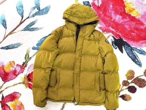 ケープホーンのダウンコートです。2019年に買ったばかりのお気に入り。