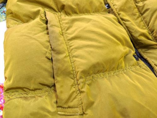 ポケット周りは手の脂で黒ずんでいます。