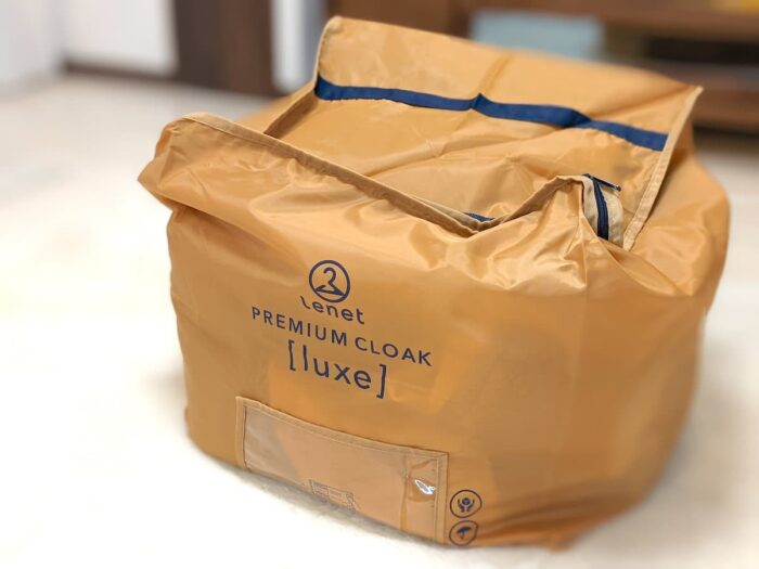 リネット保管(プレミアムクローク)の集荷袋