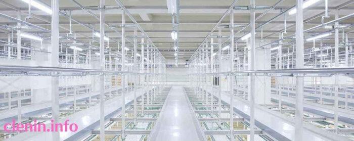 リネット保管のアパレル品質の保管庫で保存される
