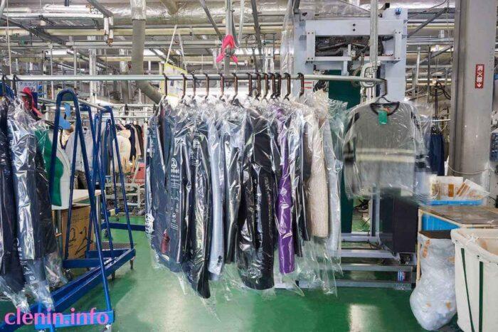 リネットクリーニングの工場