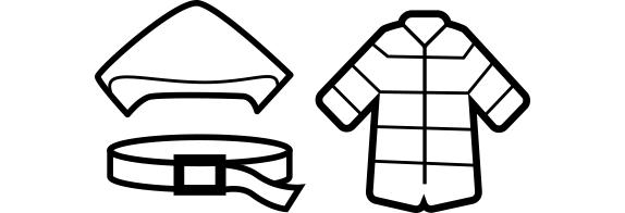家事の達人衣類の宅配クリーニングでのライナーとフートの対応